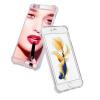 ESCASE телефон оболочки мобильный телефон Apple, iPhone 6s металлическое зеркало мобильный телефон оболочки мобильный телефон устанавливает телефон оболочки мягкой оболочки падение сопротивления 6S / заполняется при 6 4.7 Yingcun элегантный Rose телефон