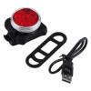 Велосипед 3 LED 4 режима Глава Передний Задний Задний фонарь Лампа USB аккумуляторная