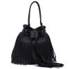 новые кисти сумки дамы пу кожаную сумку моды женщины сумку ведро сумку высокого качества, маленькие женщины сумку сумку fierro