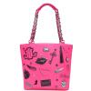 (LOLLIPOPS) 20550 сумка через плечо ярко-розовая цепная