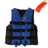MyMei 6 Sizes Swimmwing Boating Polyester Adult Life Jacket Foam Vest Survival Suit with Whistle for Swimming Drifting Device+Whis stearns adult type ii boating lifevest