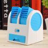 Мини Малый вентилятор охлаждения Портативный Desktop Dual Bladeless кондиционера воздуха USB увлажнители и очистители воздуха air doctor блокатор вирусов портативный