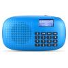 Длинные Цинь (ROYQUEEN) X360 карта старого радио Walkman портативный MP3-плеер мини-динамик функция фонарика Elf синий диметоит nogo a950 walkman музыка старого рация mp3 плеер положить небольшую стереосистему карты фонарик с черными чернилами рифмой