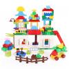 GOUGOUSHOU Развивающие игрушки для раннего образования Пластические детские кубики 105 кусков развивающие деревянные игрушки кубики сладости