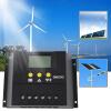 50A 12-24 / 48V Солнечный регулятор Солнечный контроллер заряда ЖК-Solar Genetator