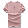 Случайные мужчины футболки 2016 Новые поступления мужчины лето хлопок Короткая рукавами футболки с коротким рукавом твердых мужчин плюс Размер 5xl футболки