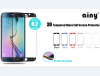 Ainy 0.33mm 3D Защитное Стекло screen protector для Samsung Galaxy S7 edge белое аксессуар защитное стекло samsung galaxy s7 ainy full screen cover 3d 0 33mm black