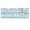 GANSS GS104 вишневый вал без ударной игры механическая клавиатура 104 белый красный осей ледяной синий (версия PBT)