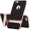 Локк ROCK Royce скобка популярные бренды мобильных телефонов оболочка iPhone6 / 6с чехол для Apple, 6 / 6с силиконового чехла шампанского золота