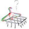 [Jingdong сушки супермаркет стеллажи 20] Ho предпочтительно алюминиевой клип подачи средства сушки стеллажи из нержавеющей стали стойки 20 следов оказалось Лакокрасочные вешалки