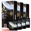Jiunai презерватив 12 шт.* 3 кор. секс-игрушки для взрослых трусики красные для насадок из натуральной кожи