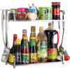 повар [супермаркет] Jingdong США (maxcook) кухня полка из нержавеющей стали двойная бутылочка с крюком MC2040