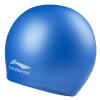 Lininglining волос водонепроницаемая силиконовая шапочка для плавания шапочки для плавания мужчину леди синий LSJK808 шапочки и чепчики лео шапочка совы
