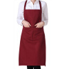 MyMei M Plain Apron with Front Pocket for Chefs Butchers Kitchen Cooking Craft Baking debbie dooly cooking with chia for dummies