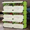 Jingdong супермаркеты дома к сердцу простой пластиковой домашней пыли обувь обуви обувь шкафы для хранения могут быть собраны из двух слоев 6 GX-5854G