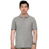 Дэвид Хилл (Дэйв Хилл) рубашки поло DH1021JS01 мерсеризированного хлопок сплошного цвета мужской рубашки поло серый 50 ярдов