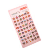 MyMei  1Pair Cell Phone Cup Emoji Sticker Pack Die Cut Stickers Phone Instagram 2016 one sheet 48 stickers hot popular sticker 48 emoji smile face stickers for notebook message twitter toy large viny instagram