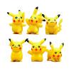 MyMei 6x Pocket Wizard Pikachu Doll Cake Decor Landscape Window DIY Toy Gift NF npkcollection 55cm full silicone body reborn baby doll toy realistic newborn boy babies doll lifelike birt hday gift for girls