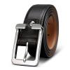 GOLF Golf Классический мужской ремень кожаный ремень мужской пряжкой ремня черные ящики P690114 мужской ремень cinto couro marca