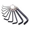 Стэнли (Stanley) цепь шестиугольные Шестигранный ключ гаечный ключ 10 комплектов (метрические) 1.5-10mm 69-213 ключ воротка stanley 0 90 947