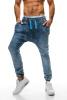 Новый Mens вскользь шаровары ретро Сыпучие хлопка джинсы смеси и сыпучие материалы