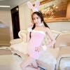 США Клодель (MEIMIER) Мать розовый кролик сексуальной формы искушение сексуальное женское белье платье erolanta розовый