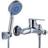 Ягодная ванная (ballee) 1103-66 простой набор для душа полный медный смеситель для душа с клапаном смешанной воды ванная