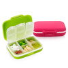 [Супермаркет] Jingdong высокомолекулярные млрд EKOA семейной медицины груди ящики для хранения медицина бункеров Аптечка Многофункциональный ящик для хранения Red Rose