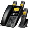 Philips (PHILIPS) DCTG182 одним перетащить три перетащить три пары hands-free / внутренний звонок / беспроводной телефон / стационарный телефон машина мать / ребенок телефон стационарный черный стационарный