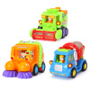 Villo игрушка (HUILE TOYS) модель автомобиля образовательной инерция автомобиль игрушка для детей, работающих модель команды небьющегося Мультфильм DS102 (случайный цвет) villo игрушки huile toys 757 исследуют радиоуправляемые игрушки детей ребенок ребенок музыкальный телефон телефон 6 месяцев