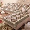 Богатый дом (FOOJO) хлопок одноместный диван подушки полотенце для рук назад Гавайи 90 * 90 см