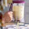 DIY вручную Кекс клейстер фармацевт раструб жидкость Rollout Инструмент Измерение стекла Кексы раздаточный инструмент Кухонная ут
