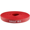 Haile ZD-1A-5M Free Crop Velcro Back-to-Back Belt Belt Striped с 5-кратным красным 12 * 5000 мм powge htd 5m timing belt c 290 295 300 305 width 15 20 25mm teeth 58 59 60 61 htd5m synchronous belt 290 5m 295 5m 300 5m 305 5m