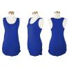 Для женщин без рукавов Топы Basic Cami майка Racerback Длинные Футболки Side гофрирования топы и футболки