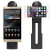 ESCASE Apple Ipad клип Huawei сотовый телефон iphone Samsung проса телефон автоспуска рабочего стола рычаг таблетки стоять черный клип видеоконференцсвязь