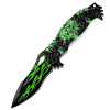 Открытый пещерные коллекции складной нож ведущих анти-деньги Походный нож тактический нож самообороны нож многофункциональный открытый нож выживания CM8012 зеленый гонка billiton санто 1802 складной нож тяжелый нож обои обои нож нож для бумаги