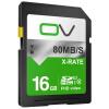 SDHC карта памяти Class10 хранения высокоскоростная карточка SD OV 16G 80MB / с цифровых зеркальных фотокамер Профессиональные HD видеокамеры карты флэш-памяти на борту ov карта памяти для мобильного телефона