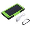 8000mah портативный Водонепроницаемый Солнечной питания Банк Резервный Аккумулятор Зарядка для телефона
