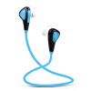все цены на Newman Newmine NM-SL81 в ухе спорта на открытом воздухе моды универсальный беспроводной Bluetooth гарнитуры синий онлайн