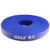 Haile ZD-1F-5M Free Crop Velcro Backlit Belt Belt Striped с 5-метровым синим 12 * 5000 мм powge htd 5m timing belt c 290 295 300 305 width 15 20 25mm teeth 58 59 60 61 htd5m synchronous belt 290 5m 295 5m 300 5m 305 5m
