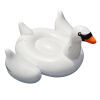 MyMei White Summer Lake Swimming Water Pool Kids Rideable Swan Inflatable Float Toy summer activity water games inflatable saturn rocker inflatable water saturn for lake