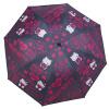 цены Hello Kitty HELLO KITTY девочка зонтик три раза зонтик складной солнечный зонтик хитом ткань + черный пластиковый изолированный UV зонтик KT-3507 черный 21 дюйм