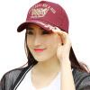 [Супермаркет] Jingdong ожесточенная Гданьск (шведских крон) MMZ13278 Мужчины Женщины Европейский стиль крышка хлопка вышитые бейсболки шляпа прилив бордовый