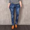 новая мода на период до 2016 года бренд мужской джинсы, джинсы цвета хлопок мужчин полнят джинсы мужской дизайнер мужчин деним джинсы и размер 38