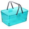 [Супермаркет] Jingdong дополнительных преимуществ продукта пластикового переносные корзин для хранения ванной хранения корзины корзина JY-0670 синий