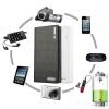 Высокое качество 1 шт. 50000mAh внешний Резервный Банк питания светодиод двойной USB зарядное устройство для iPhone зарядное устройство duracell cef14 аккумуляторы 2 х aa2500 mah 2 х aaa850 mah