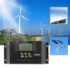 30A 12-24 / 48V Солнечный регулятор Солнечный контроллер заряда ЖК-Solar Genetator