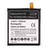 Черный 2300mah литий-ионная аккумуляторная батарея для LG БЛ-Т9/НЕКСУС 5 Качество Новый з у для рации a23 24 2300 mah new