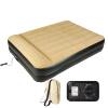 Jilong Надувные кровати подушки кровати роскоши Плюс толще Одноместный двойной бытовой надувной матрас обед Открытый наружная кров