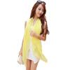 [Супермаркет] Jingdong ожесточенная Гданьск (шведских крон) WSJ161676 г-жа шарфы Корейский длинный участок пляжное полотенце мыс шарф двойной женщин ярко-желтые шарфы